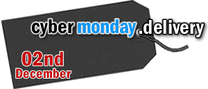 cybermonday.delivery is on the 02nd December 2019 - domain by NextDay and NextWorkingDay